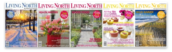 Living North Magazine Covers
